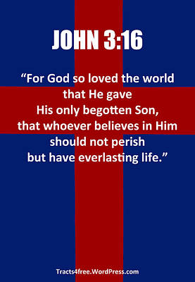 John Three Sixteen Poster