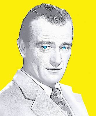 John Wayne Poster by Art Cinema Gallery
