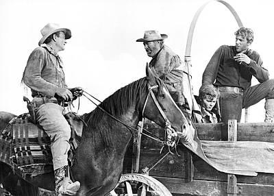 John Wayne In hondo Poster
