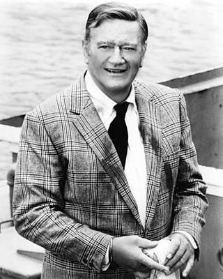 John Wayne In Mcq  Poster