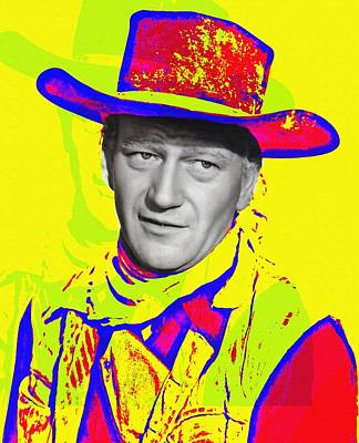 John Wayne In Red River Poster by Art Cinema Gallery