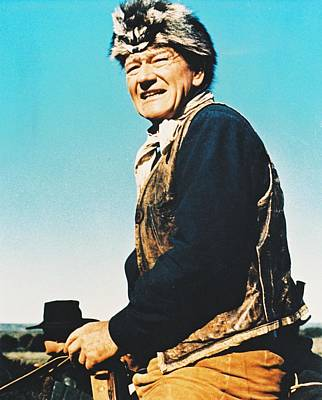 John Wayne In The Alamo Poster by Silver Screen