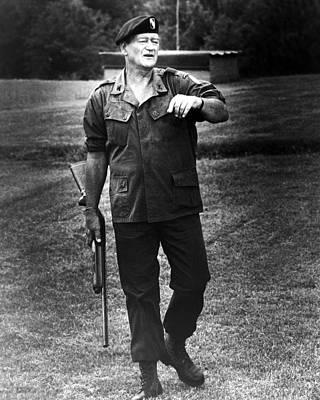 John Wayne In The Green Berets  Poster