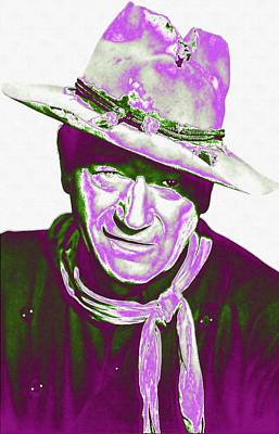 John Wayne In The Man Who Shot Liberty Valance Poster by Art Cinema Gallery