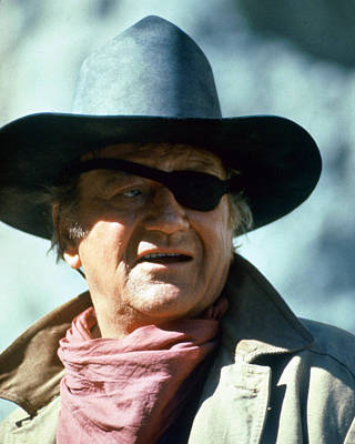 John Wayne In True Grit  Poster