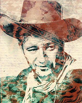 John Wayne Unmasked Poster