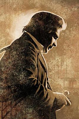 Johnny Cash Artwork Poster
