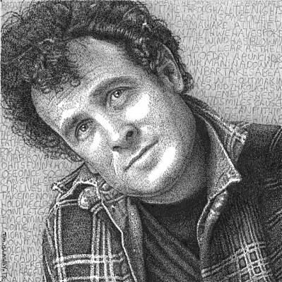 Johnny Clegg Poster by Timothy Glasby