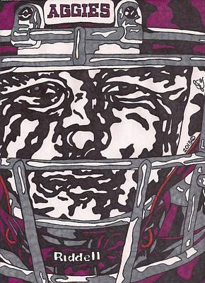 Johnny Manziel 16 Poster by Jeremiah Colley
