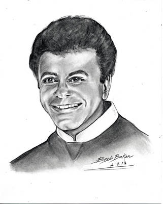 'johnny Mathis' Poster by Barb Baker