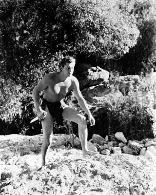 Johnny Weissmuller In Tarzan Finds A Son!  Poster