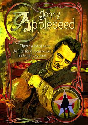 Johny Appleseed Aka Joe Strummer Poster