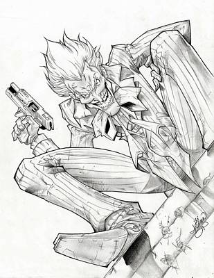 Joker Arkham Asylum Poster