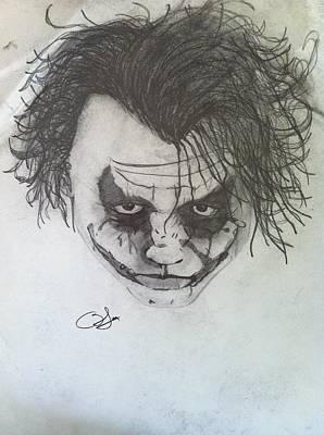 Joker Poster by Blake Mcmillon