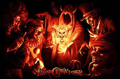 Joker Gathering Poster by Tom Wood