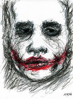 Joker - Not All Jokes Are Funny Poster by Rachel Scott