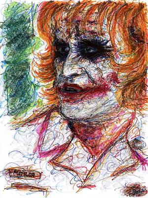 Joker - Nurse Poster by Rachel Scott