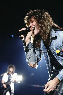 Bon Jovi '87 #1 Poster by Chris Deutsch