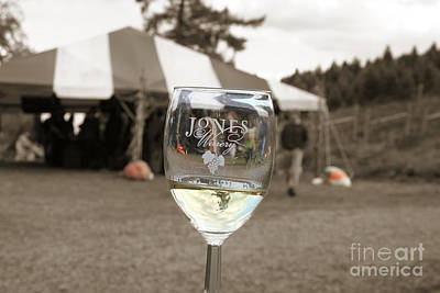 Jones Winery Glass.02 Poster