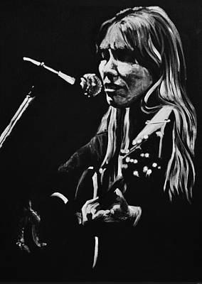 Joni Mitchell Poster by Melissa O'Brien