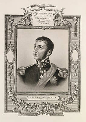 Jose De San Martin Poster by British Library