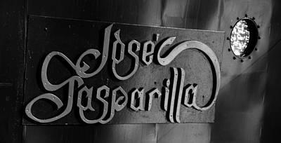 Jose Gasparilla Name Plate Poster