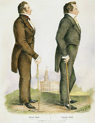Joseph & Hyrum Smith Poster