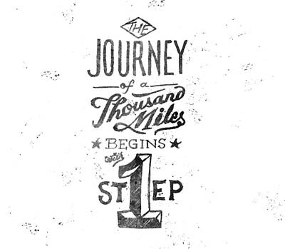 Journey Of Thousand Miles Poster