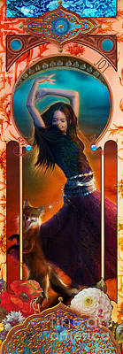 Joy Faith Hope Love IIi Poster by Aimee Stewart