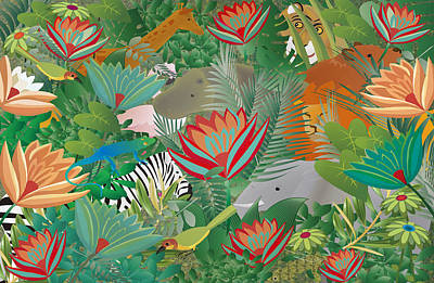 Joy Of Nature Limited Edition 2 Of 15 Poster by Gabriela Delgado