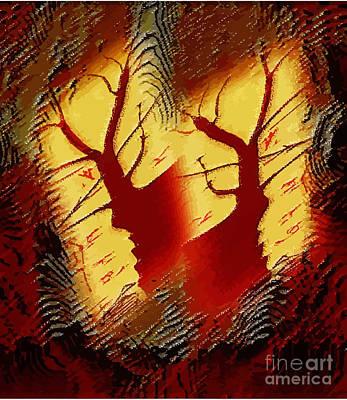 Joy Of Nature Poster by Manju Lata