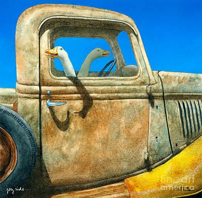 Joy Ride... Poster by Will Bullas