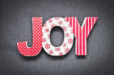 Joy Sign Poster