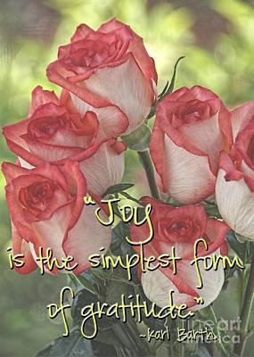 Joyful Gratitude Poster