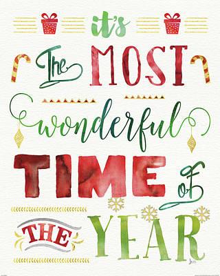 Joyful Wishes II Poster by Jess Aiken