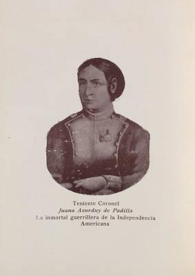 Juana Asurduy De Padilla Poster