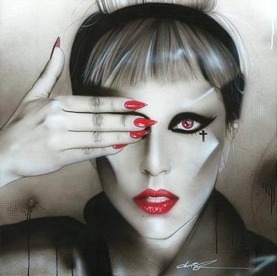 Lady Gaga - ' Judas Iscariot ' Poster by Christian Chapman Art