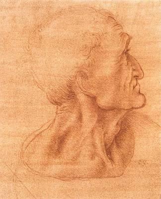 Judas Poster by Leonardo da Vinci