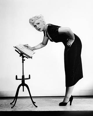 Judy Holliday In Born Yesterday  Poster