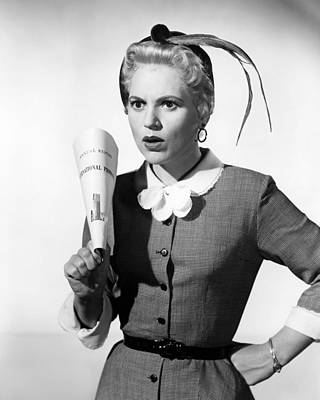 Judy Holliday In The Solid Gold Cadillac  Poster