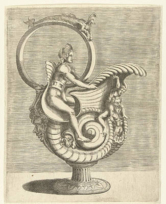 Jug In The Shape Of A Snail Shell, Balthazar Van Den Bos Poster