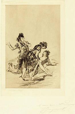 Jules-ferdinand Jacquemart After Francisco De Goya French Poster