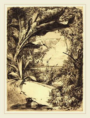Jules-ferdinand Jacquemart French, 1837-1880 Poster