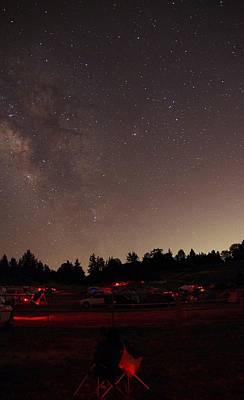 Julian Night Sky Milky Way Poster