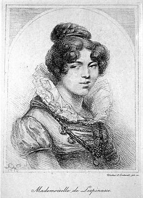 Julie De Lespinasse (1732-1776) Poster