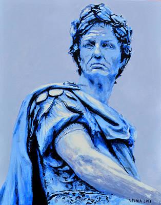 Julius Caesar Poster by Victor Minca