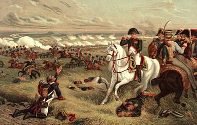 July 5 1809 Napoleon On White Horse Poster