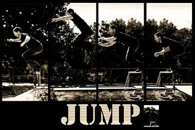 Jump Poster by Lisa Knechtel