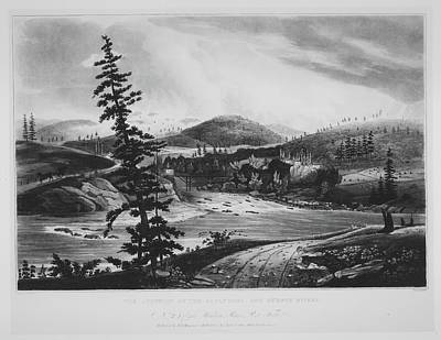 Junction Of The Sacandaga And Hudson Poster