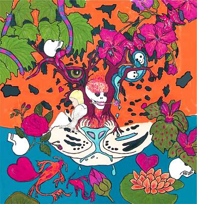 Poster featuring the digital art Jungle Fever 5 by Stephanie Grant